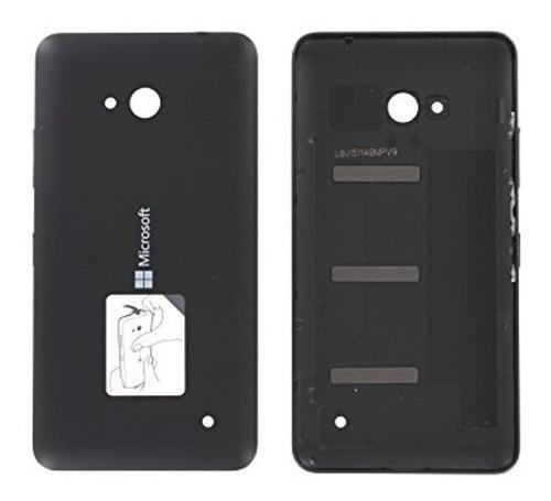 Tampa Traseira Nokia Lumia 640 Preta Nova Original