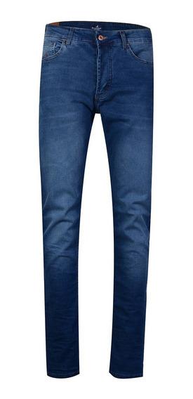 Jean Pantalon Hombre Algodón Moda Importado Slim Fit Brooksfield