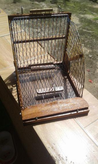 Transportador De Pássaros Modelo Alçapão Boca De Sapo