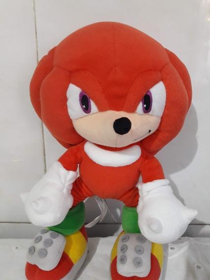 Pelúcia Sonic Vermelho Sega