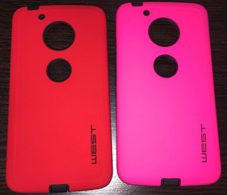 Tres Fundas Slim Case Motorola Moto G5 - Postino Insumos
