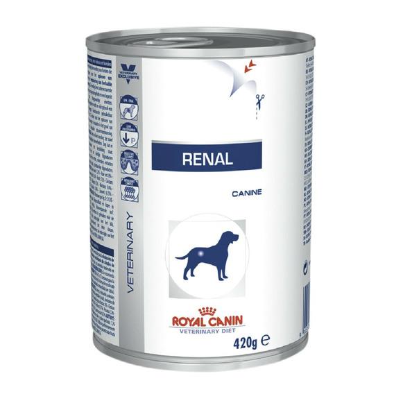 Ração Úmida Royal Canin Veterinary Renal Cães Adultos - 410g - 1 Unidade