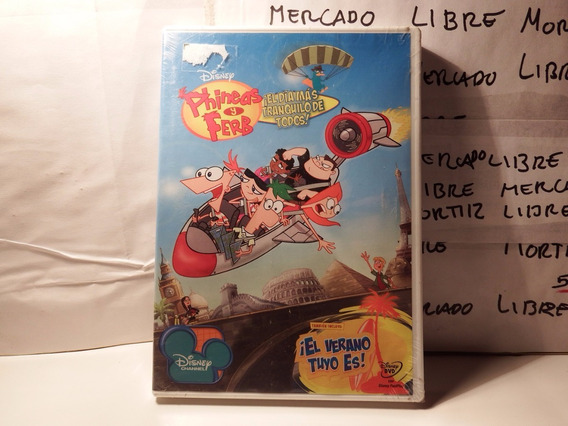 Dvd Phineas Pherb Episodios Disney Fisico Nuevo