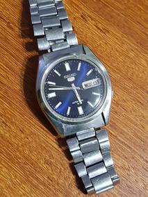 Relógio Automático Seiko Aço Masculino Original