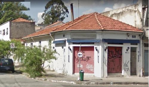 Terreno Residencial À Venda, Mooca, São Paulo. - Te0112