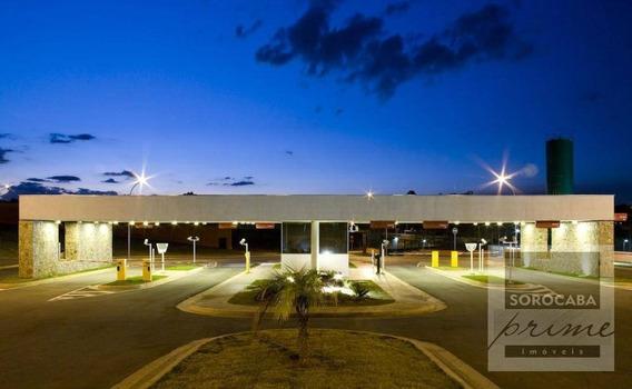 Terreno À Venda, 450 M² Por R$ 230.000 - Alphaville Nova Esplanada - Votorantim/sp, Próximo Ao Shopping Iguatemi. - Te0085