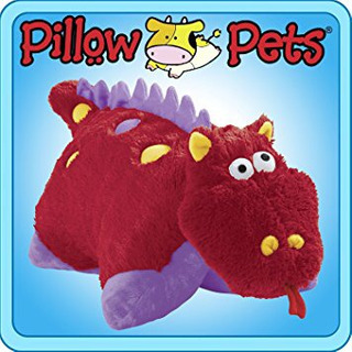 Pillow Pets Pee - Wees Fiery Dragon 11 Juguete Almohada