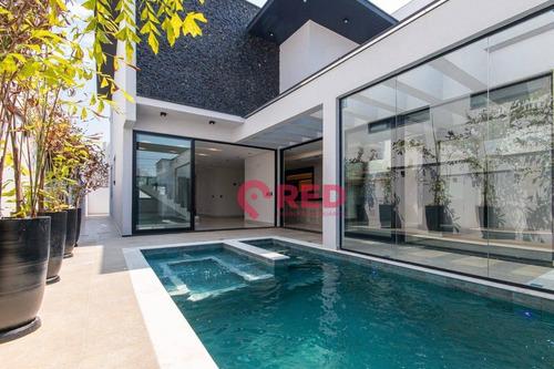 Sobrado Com 4 Dormitórios À Venda, 375 M² Por R$ 3.000.000,00 - Condomínio Residencial Giverny - Sorocaba/sp - So0225