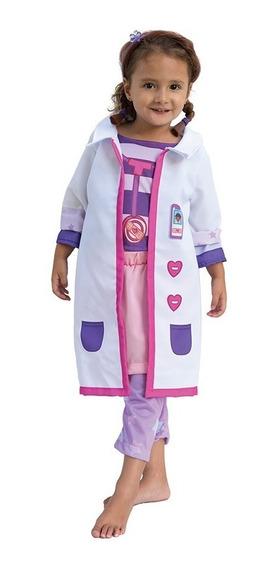 Disfraz Doctora Juguetes Original Disney Pelo Y Pulsera
