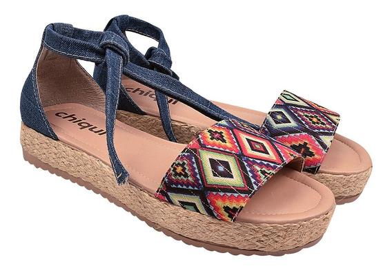 Sandália Sapato Feminina Chiquiteira Chiqui/54241