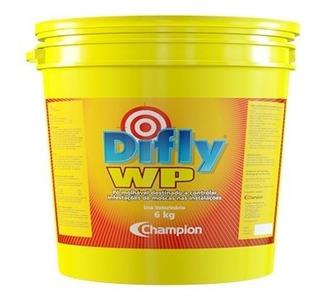 Difly Wp 6 Kg - Champion Saúde Animal - Controle De Moscas