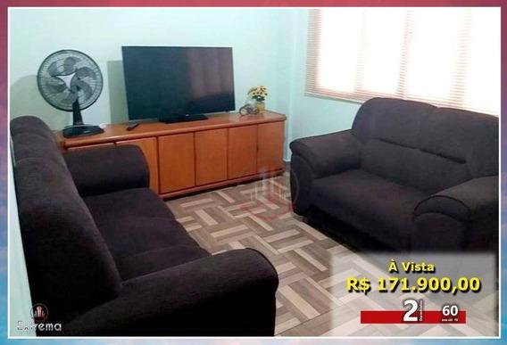 Apartamento Com 2 Dormitórios À Venda, 60 M² Por R$ 171.900,00 - Aviação - Praia Grande/sp - Ap1229