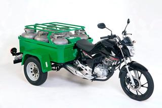 Tricicar Triciclo De Carga Para 8 Botijões P13 2020