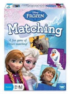 Juego De Frozen Disney Frozen Matching