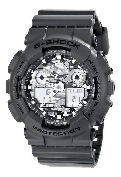 Relógio G Shock Casio Ga 100cf 8adr Original + Nfe Garantia