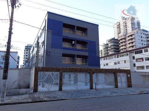 Imagem 1 de 13 de Apartamento Com 1 Dormitório À Venda, 50 M² Por R$ 200.000 - Tupi - Praia Grande/sp - Ap0800