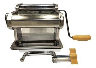 Máquina Inoxidable Para Hacer Pasta 3 En 1 Ambiente Gourmet
