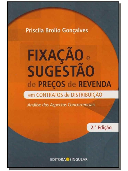 Livro - Fixacao E Sugestao De Precos De Revenda - 02ed/16