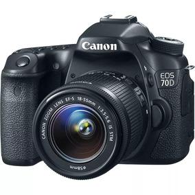 Câmera Canon 70d | Corpo | Cartão 8gb