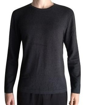 Suéter Broken Rules Mescla Escuro 590 Masculino Frio Inverno