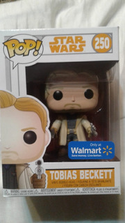 Funko Pop 250 Star Wars Tobias Beckett Exc Walmart