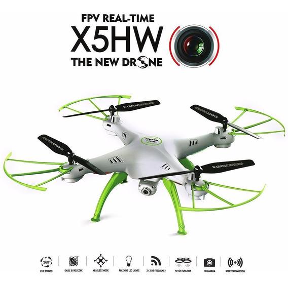 Syma X5hw Wifi Fpv 0,3 Mega Pixel Camera 2.4g Rtf Branco