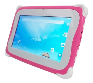 Tablet Kids Wifi 1gb Ram, Juegos 2 Cámaras Hasta 32gb