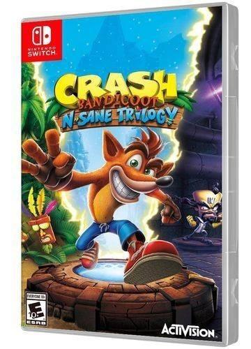 Crash Bandicoot N-sane Trilogy Switch Midia Física Novo