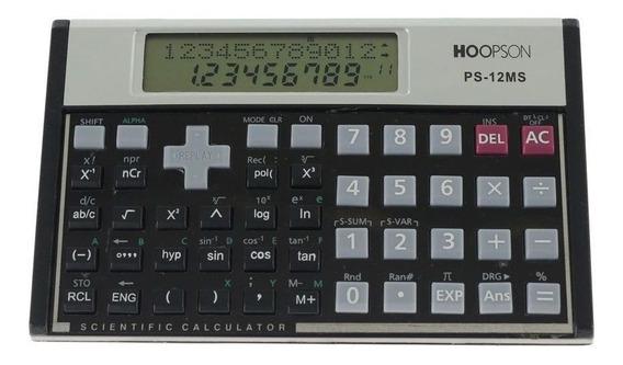 Calculadora Científica Hoopson C/ 240 Funções - Ps-12ms