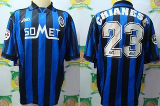 Camisa Futebol Atalanta Italia # 23 De Jogo X Vasco 1997
