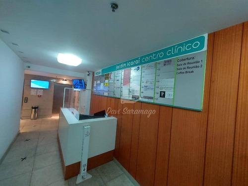 Ótima Sala À Venda, 27 M² Por R$ 285.000 - Jardim Icaraí - Niterói/rj - Sa0043