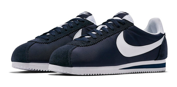Tênis Nike Cortez Nylon Classic Blue Lifestyle Lowrider