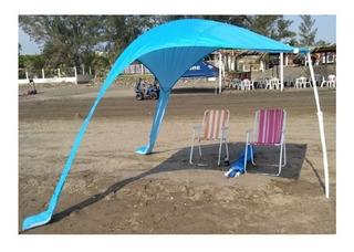 Sombrilla Toldo Carpa Parasol Para Playa Campo (refurbished)