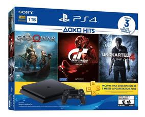 Console Sony Ps4 Slim 1tb 3 Jogos Cuh-2115b Pns Plus 3 Meses