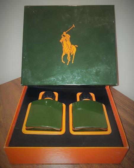 Kit Polo Explorer Ralph Lauren | Caixa E 2 Frascos Vazios
