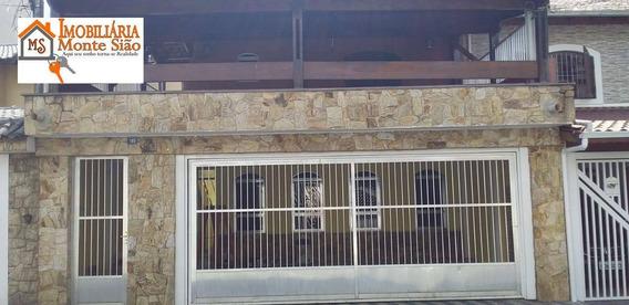 Sobrado Com 3 Dormitórios À Venda, 263 M² Por R$ 750.000,00 - Vila Galvão - Guarulhos/sp - So0421