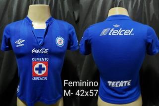 Camisa Cruz Azul México Umbro Feminina 2014
