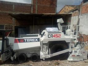 Asfaltadora Terex - Cedarapids Cr452 Año 2012