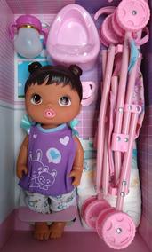 Baby Alive Chora Faz Xixi C/carrinho Barato Linda