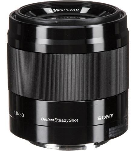 Lente Sony E 50mm F/1.8 Oss Nf