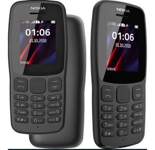 Microsoft Nokia 106 2018 Radio Fm Sellado / Tienda