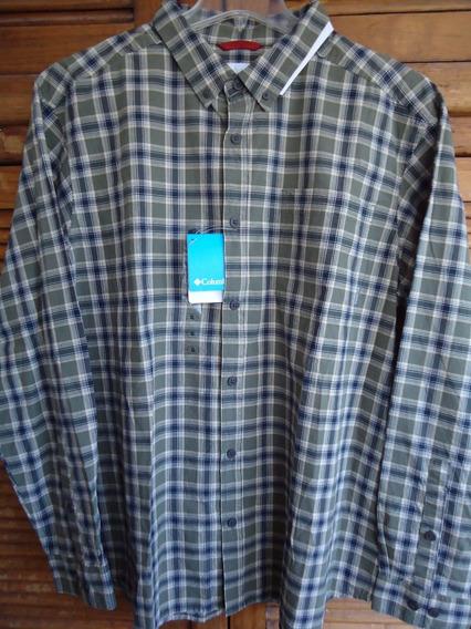 Columbia Camisa Xl Algodón