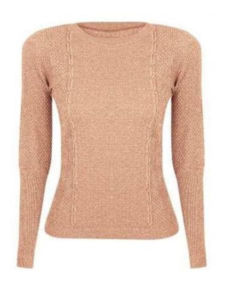 Blusa Sweater Sem Costura Loba Lupo Original 45205-001