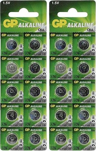 Pilas Lr44 A76 Gp Originales Con Garantía.