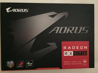 Gigabyte Aorus Radeon Rx 570 4gb Gddr5 Caba Cuotas