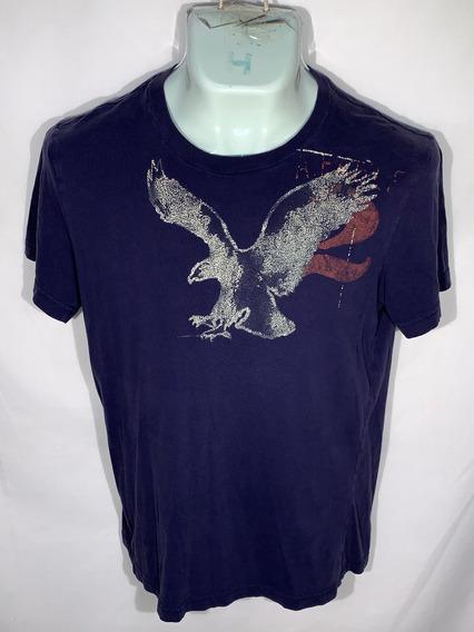°p Playera S American Eagle Id N141 Usada Detalle Hombre 4x3