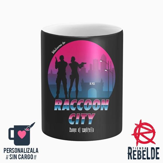 Taza Plastica - Raccoon City Retro Resident Evil