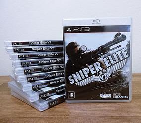 Sniper Elite V2 Ps3 Novo Mídia Física