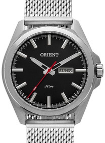 Relógio Orient Masculino Prata - Mbss2023 P1sx