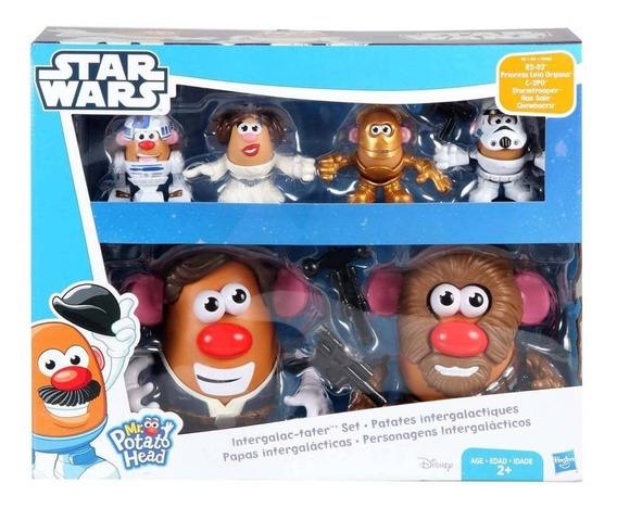 Oferta Sr Cara De Papa Edición Star Wars Set 6 Personajes